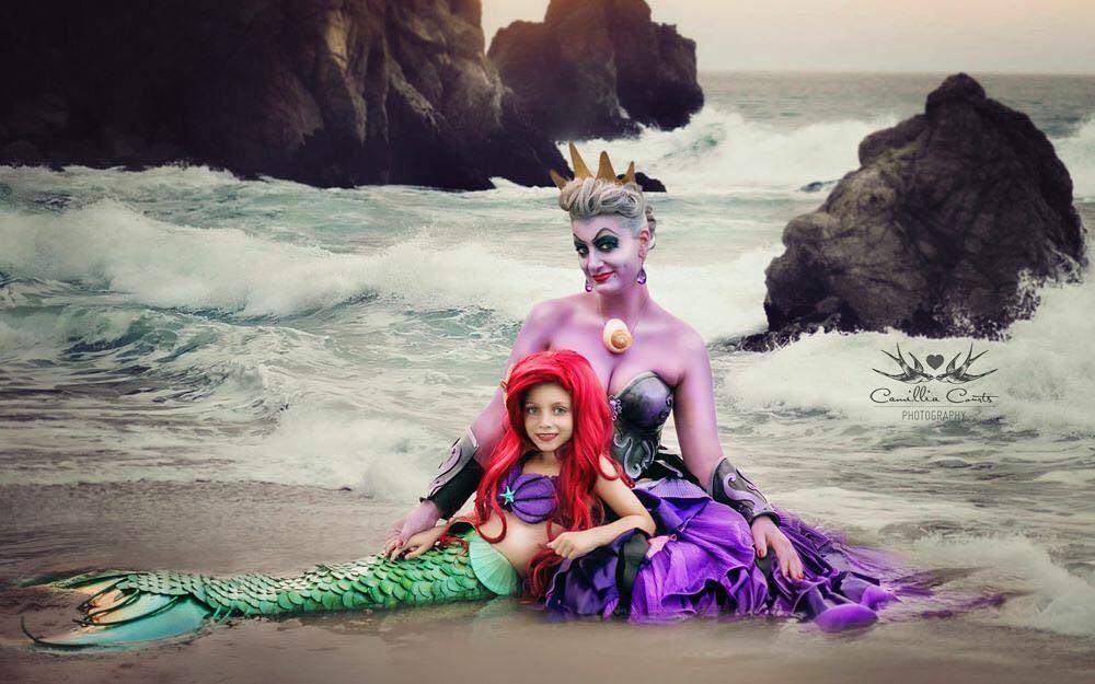 cosplay of Disney princesses