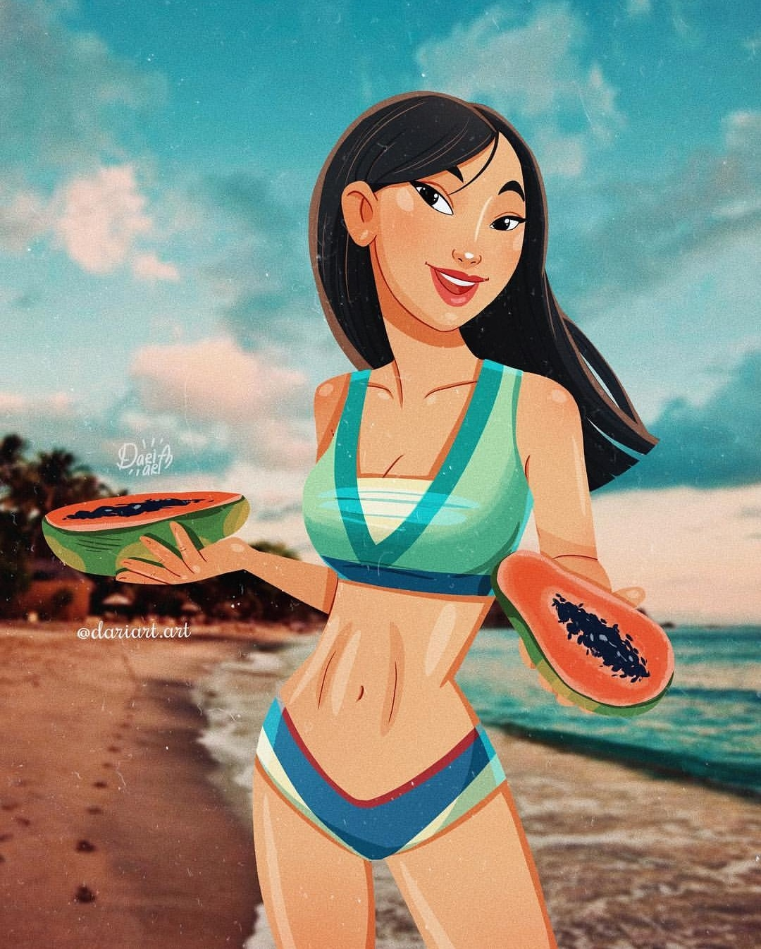 modern versions of Disney characters