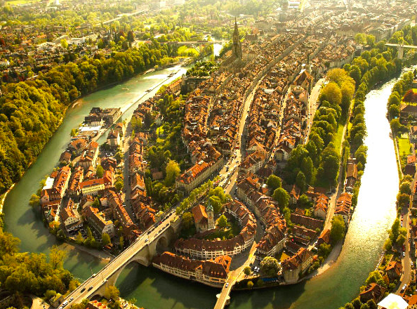 beautiful cities from a different perspective