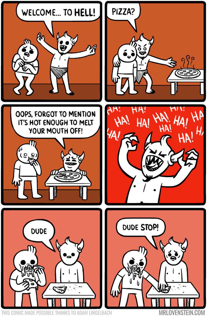 love dark humor