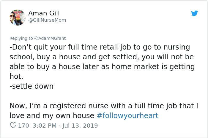 worst career advice