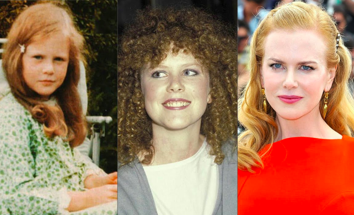 hollywood beauties childhood