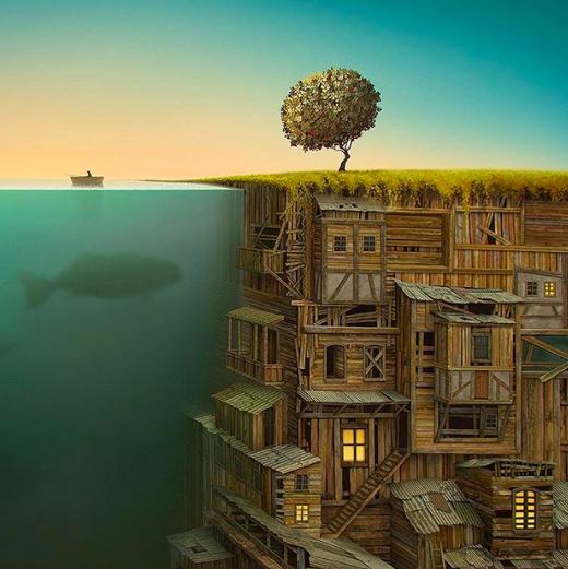 artist surreal universe