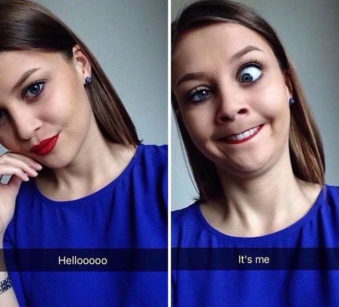 pretty vs crazy photos