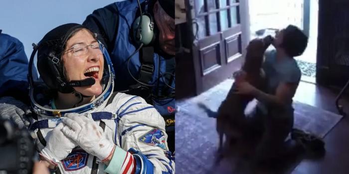 Astronaut Christina
