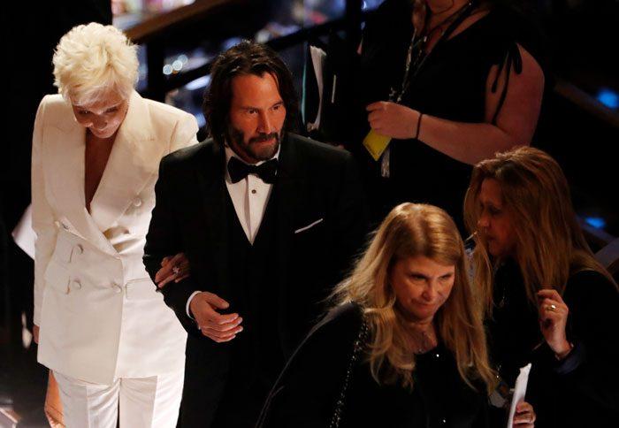 Keanu at the Oscars